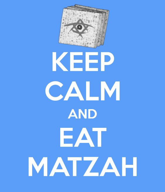 Matzah is the special flat biscuit-bread that is eaten on Passover. Passover tells the story of when the Jews were escaping slavery, thousands of years ago. The matzah tells us that in their panic to escape, the Jews had no time to let the bread rise.