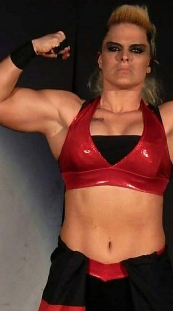 Jazzy Gabert aka. Alpha-Female #fitness #sports #muscle #BadAss