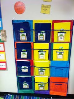Literacy Center Organization- to store centers!