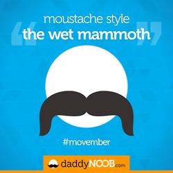 Day #3 - Moustache Style: The Wet Mammoth