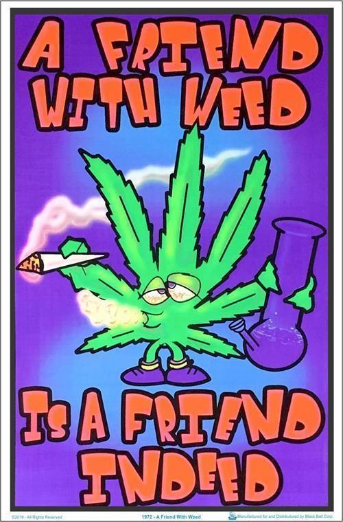 Marijuana Legalize it Poster 24 X 36