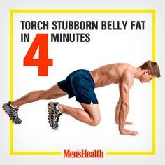 Lose that beer gut NOW. #weightloss http://www.menshealth.com/deltafit/unbelievable-4-minute-cardio-workout?cid=soc_Pinterest_content-fitness_July14_TorchStubbornBellyFatin4Minutes