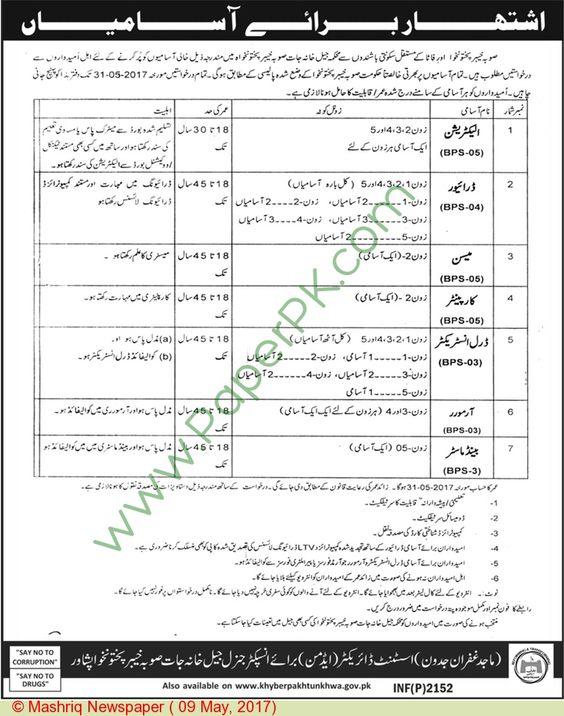 Police Department Peshawar Jobs Jobs In Pakistan Pinterest - dredge operator sample resume