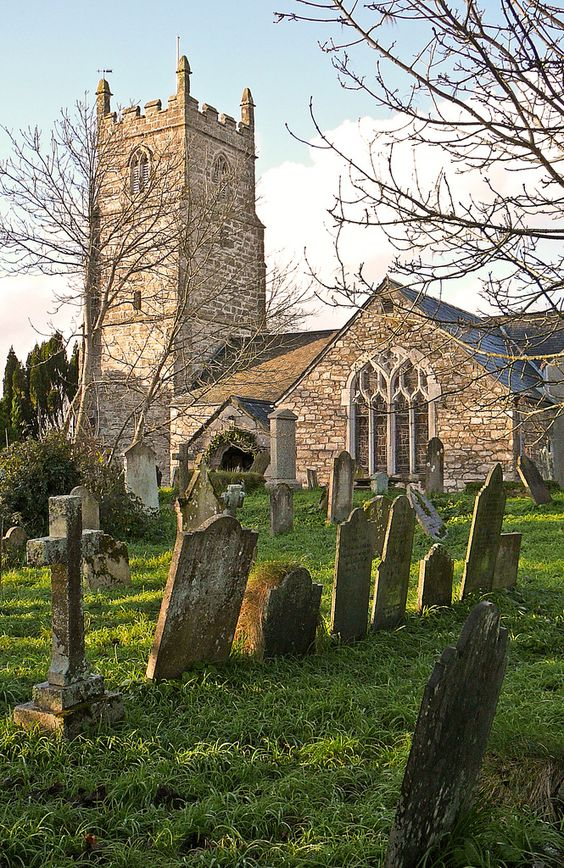 A very special place.... Budock Water village church near Falmouth Cornwall, England