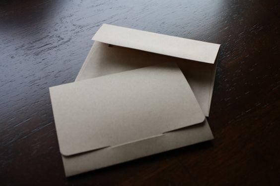 DIY Gift Card Holder  5 pk by KeboPaperWorks on Etsy, $5.00