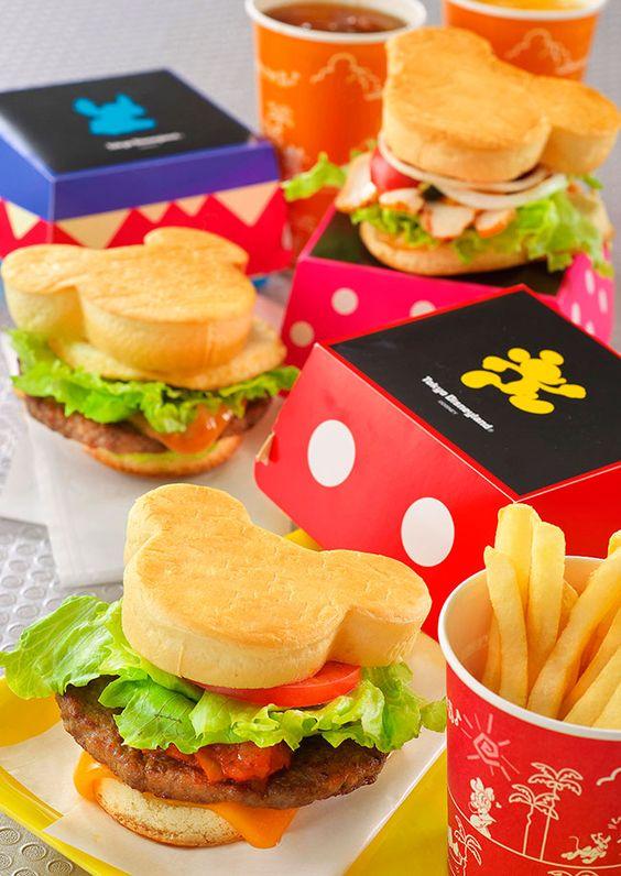 "A cute makeover from February 1 menu of Disneyland ""Tomorrowland Terrace"" Tokyo!"