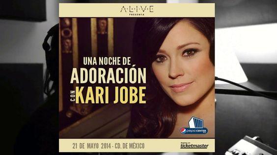 Pepsi Center WTC México, Kari Jobe @Kari Jobe #STUDIOTV #TourMajestic #UnaNocheDeAdoración — en Pepsi Center. — en Pepsi Center.