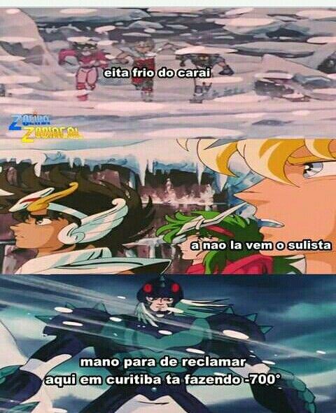 Pin De Carolicraft Mart7 Em Humor Memes Zueira Cavaleiros Do Zodiaco Anime Memes