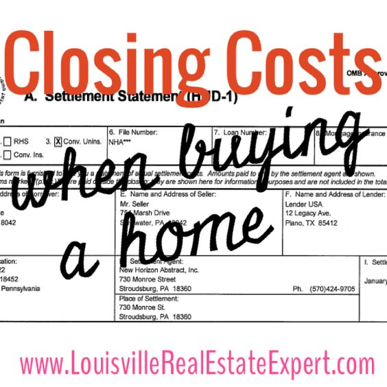 When you're planning and budgeting to buy a home, it's important to remember that the 'sticker price' is not the only cost associated with purchasing that home. There are many other fees- aside from the sales price- that come along with buying a house and...