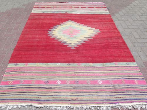 Anatolian-Turkish-Antalya-Nomads-Kilim-66-5-x-101-1-Area-Rug-Kelim-Carpet