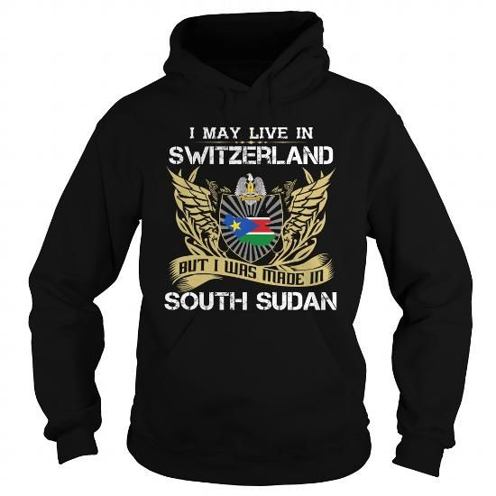 South Sudan-Switzerland - #grandparent gift #gift packaging.  South Sudan-Switzerland, grandma gift,hoodie dress. ORDER NOW =>...