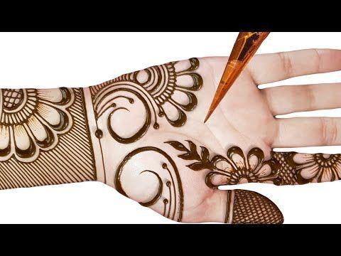 stylish arabic mehndi designs 2020 new style simple front hand
