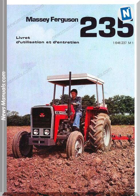 Massey Ferguson Tractor Mf235 Model Maintenance ManualsPinterest