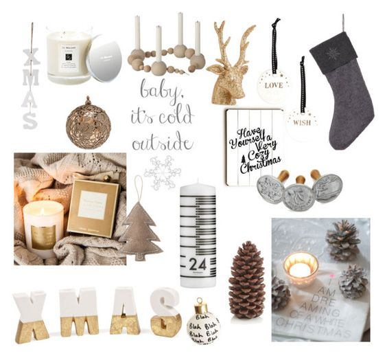 Christmas by junesdagbokpoly on Polyvore featuring interior, interiors, interior design, home, home decor, interior decorating, Nordic Ware, Zara Home, Normann Copenhagen and Jo Malone