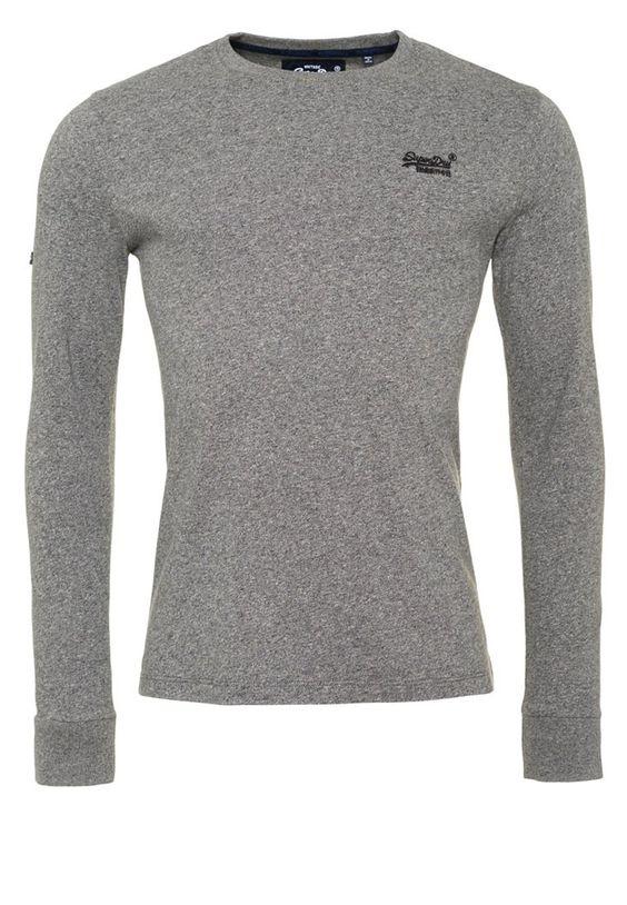 Superdry Langarmshirt speedster grey grindle Bekleidung bei Zalando.de   Material Oberstoff: 100% Baumwolle   Bekleidung jetzt versandkostenfrei bei Zalando.de bestellen!