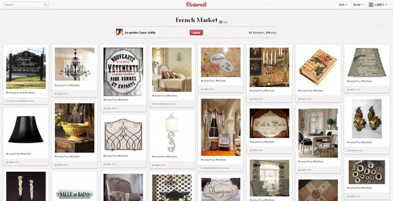 [Finalist] We're loving Jacqueline's French Market Style. Repin this pin to vote! Her entry: http://pinterest.com/jacqgrif/french-market/