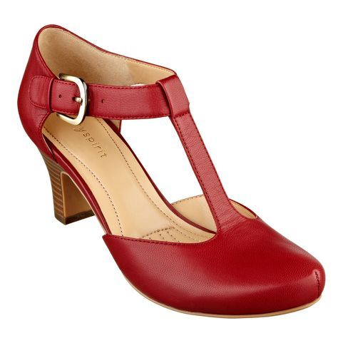 Handmade Leather 1940's Red Vintage style shoe Dorothy from Wizard ...