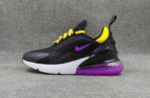Womens Nike Air Max 270 Black Purple