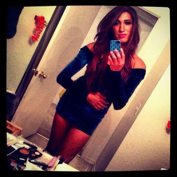 #body #ts #transexual #tranny #americanapparel #dress #velvet