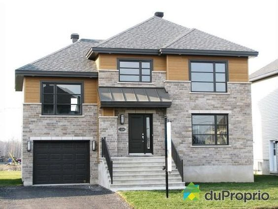 Maison neuve a vendre blainville 11060 rue de for Exterieur maison neuve