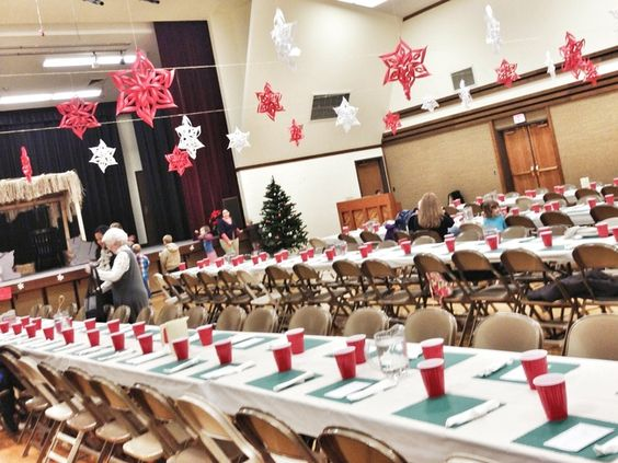 How to Decorate a Gym for a Christmas Party | Ward Christmas Party ...