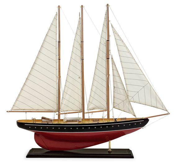 Large Sail Model Boat
