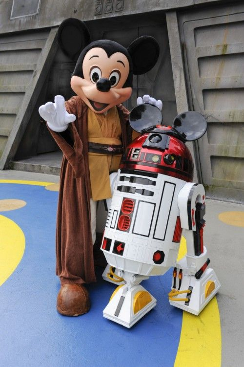 Mickey e R2D2