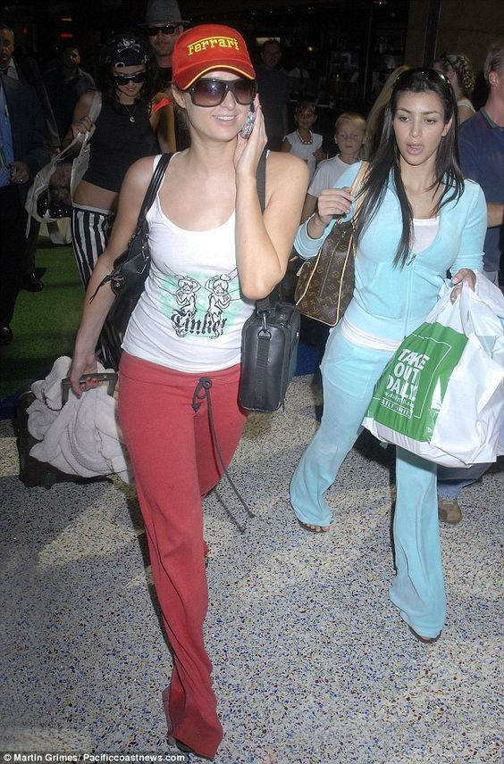 Fuzzy fashion: Aside from Kim - celebrities like Madonna, Jennifer Lopez, Britney Spears, and her former boss Paris Hilton (pictured in 2006) helped make the California company popular