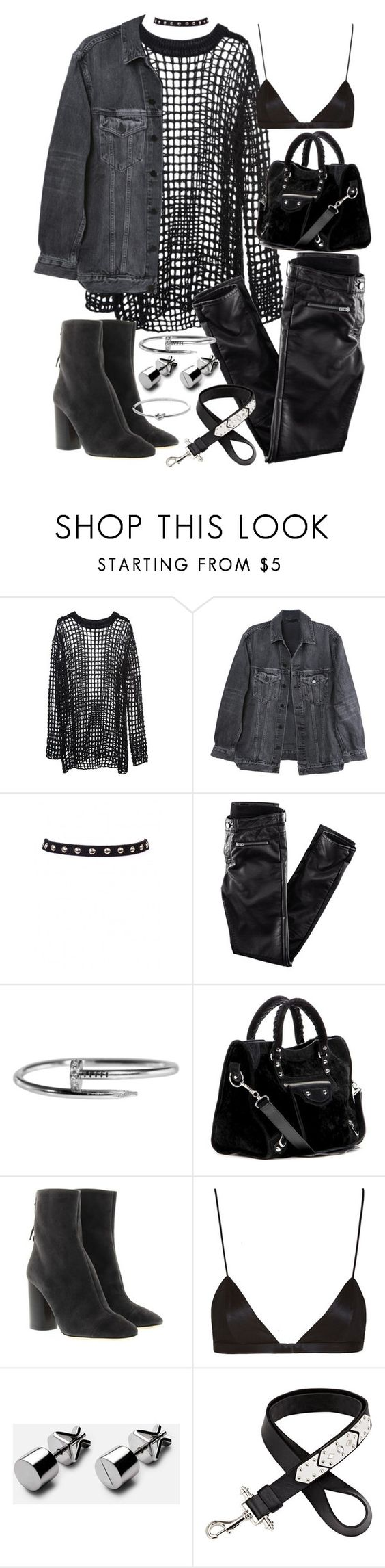 """""""Untitled #20254"""" by florencia95 ❤ liked on Polyvore featuring Y/Project, H&M, Balenciaga, Étoile Isabel Marant, NYX, Givenchy and Michael Kors"""