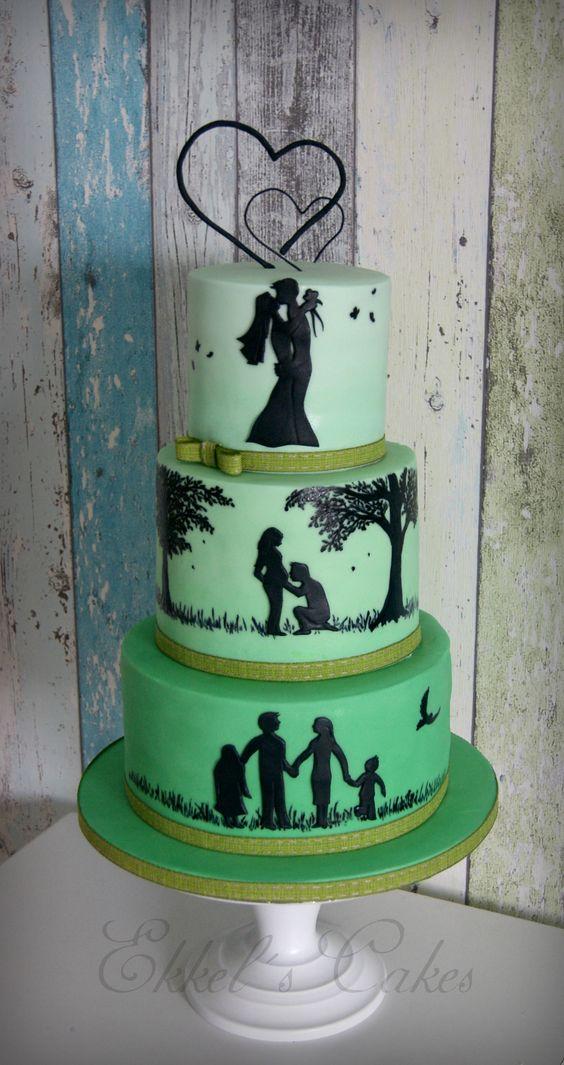 10 year anniversary cake ideas