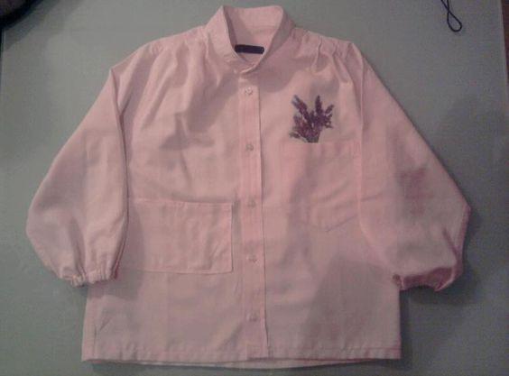 grembiule per scuola da una camicia da uomo