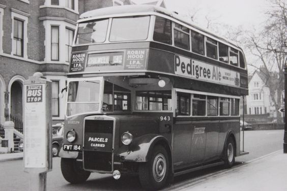 Barton Transport fleet no.943, an all Leyland PD2 acquired as part of a batch of 3 from Todmorden JOC in 1962