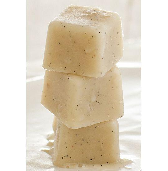 Vanilla ice cubes: http://www.thekitchn.com/weekend-pick-me-up-vanilla-ice-cubes-oh-my-veggies-173768