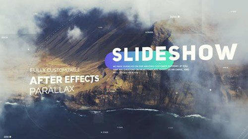 Videohive Cinematic Slideshow Opener Project For After Effects