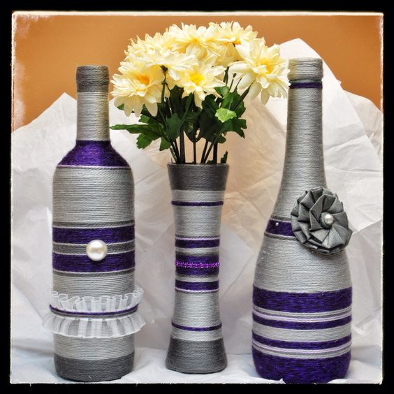 Purple and Grey Set