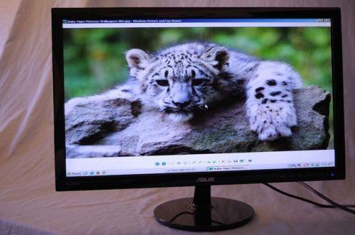 Asus VS247H-P 23.6-Inch Full-HD LED-Lit LCD Monitor