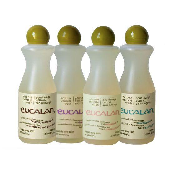 Eucalan Fine Wash Liquid 3.3oz #Eucalan