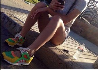 shoes open shoes sandal shoes orange sneakers asic tennis shoes sneakers tennis shoe