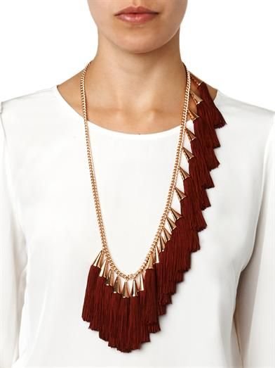 I don't always love tassels, but this is freakin cool.