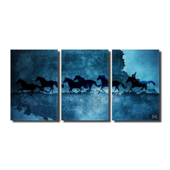 Ready2HangArt 'Equestrian Saddle Ink PSVI' Canvas Wall Art