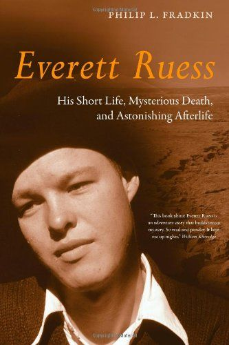 Everett was a young artist, poet and writer who explored nature including the High Sierra, California Coast and the deserts of the American southwest.