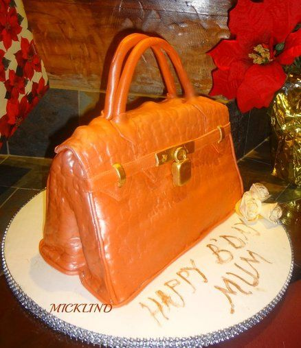 hermes birkin bag birthday cake