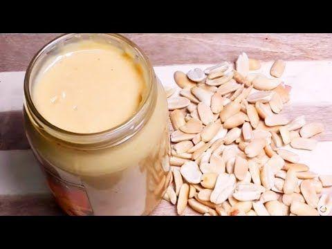 طريقة عمل الطحينة بالفول السوداني أشهي وأفيد وأنقي وبأقل من نصف سعرها في المحلات Youtube Food Glass Of Milk Milk