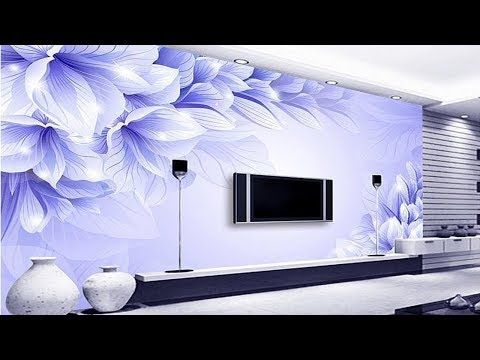 School Decoration Work India Top 50 Tv Wall Decoration Ideas 3d Wallpaper For Tv Cabinet Livi In 2020 Wallpaper Design For Bedroom Wallpaper Bedroom 3d Wallpaper