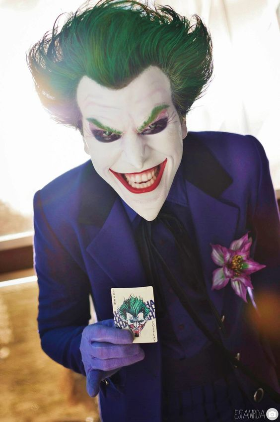 Character: Joker / From: DC Comics 'Batman' / Cosplayer: Alejandro Fanzago (aka AlexWorks):