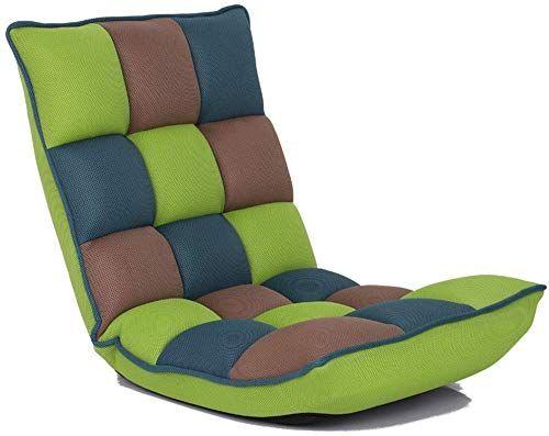 New Teerwere Easy Padded Floor Chair Adjustable Folding Lazy Sofa