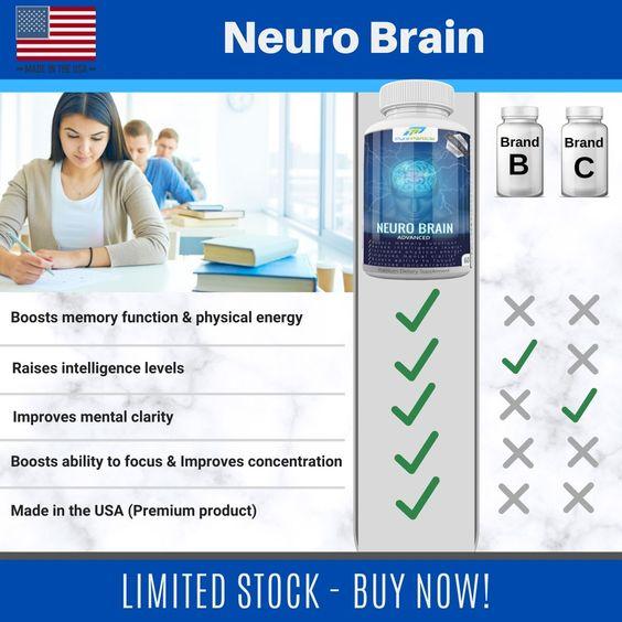 neuro brain supplement capsules pills