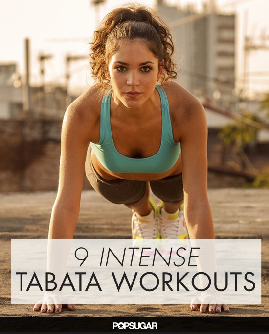 Burn More Calories and Lose Weight Faster With These Tabata Workouts