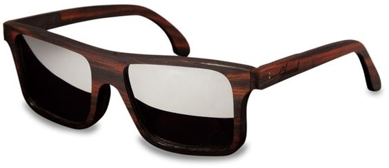 The Canby. Shwood wood sunglasses.