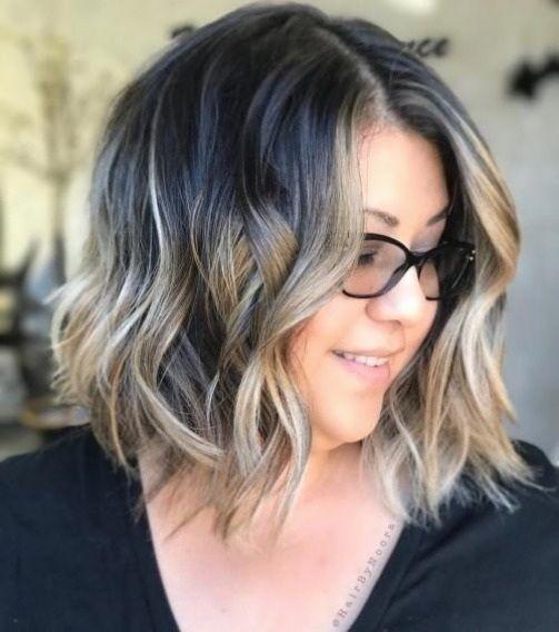 Frisuren Fur Plus Size Frauen Frisuren In 2020 Coole Frisuren Frisuren Rundes Gesicht Rundes Gesicht